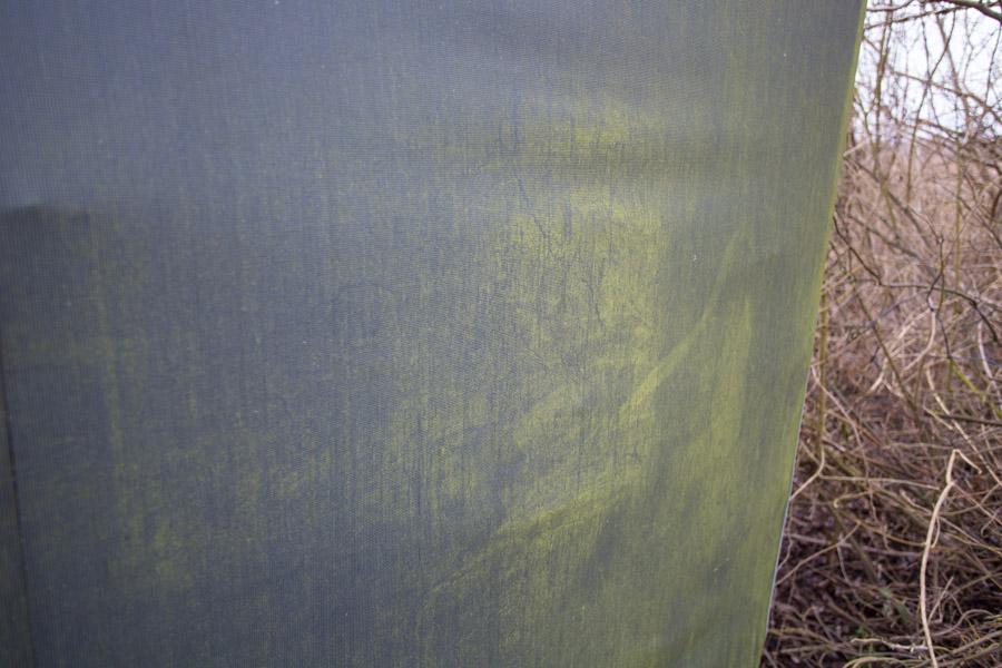 Ren Fritid Pist Væk fjerner grønne belægninger på teltet
