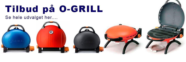 Stort udvalg af O-Grill og tilbehør