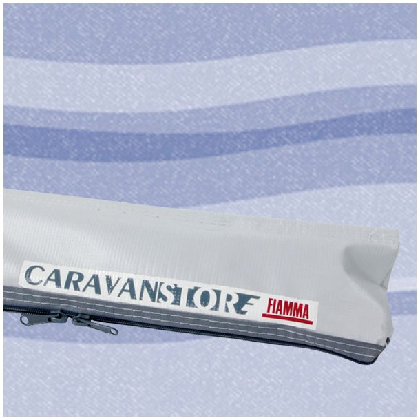 Caravanstore markise i Blue Ocean 4,1m