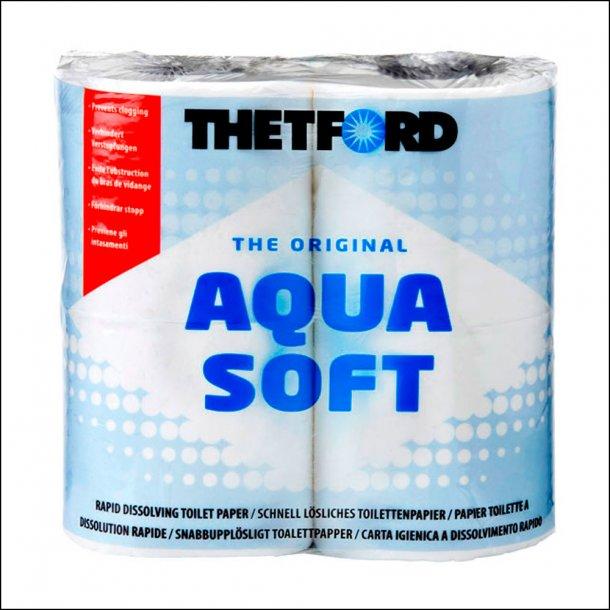 Aqua Soft toiletpapir.
