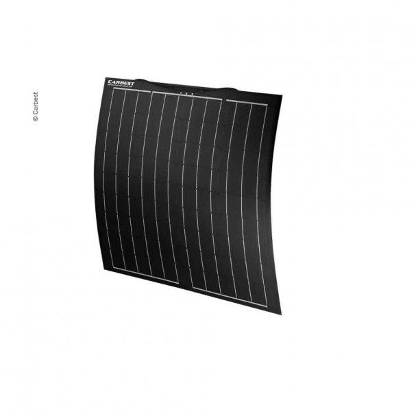 Solpanel komplet 12v/80W ECO - med lader og taggennemføring