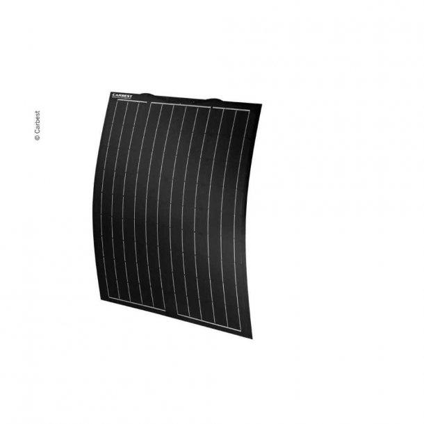 Solpanel komplet 12v/100W ECO - med lader og taggennemføring