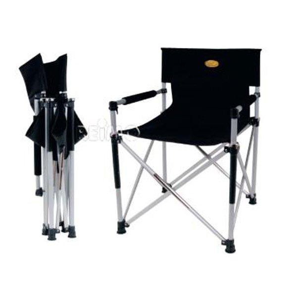 """Campingstol """"Instruktørstol"""" sammenklappelig"""