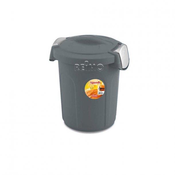 Affaldsspand med stramt lukkende låg – 8 L