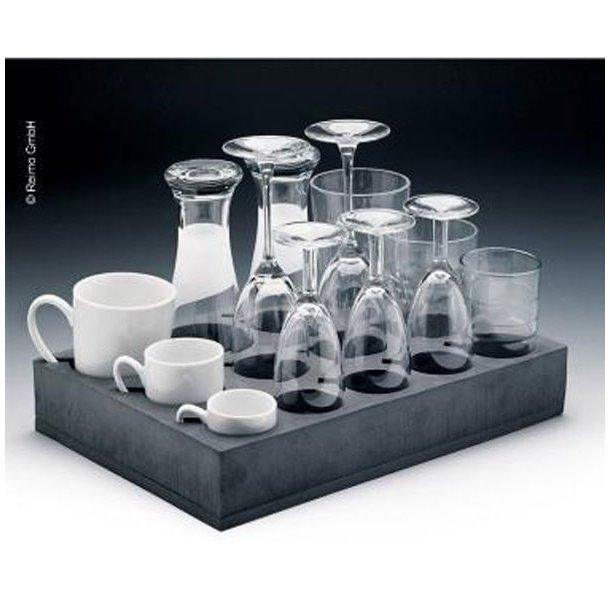 Kop/glas universalholder til 12 glas/kopper