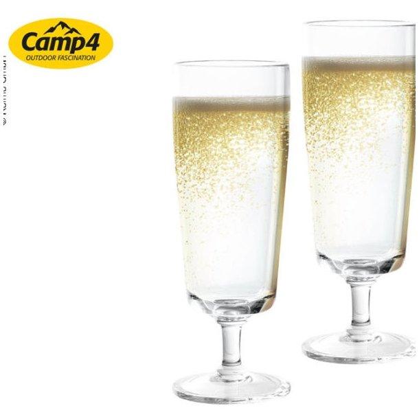 Capri champagneglas i polycarbonat – 2 stk
