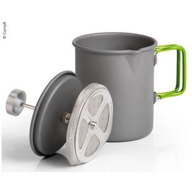 """Kedel/kaffemaskine """"ELITE"""" 2i1 i aluminium"""