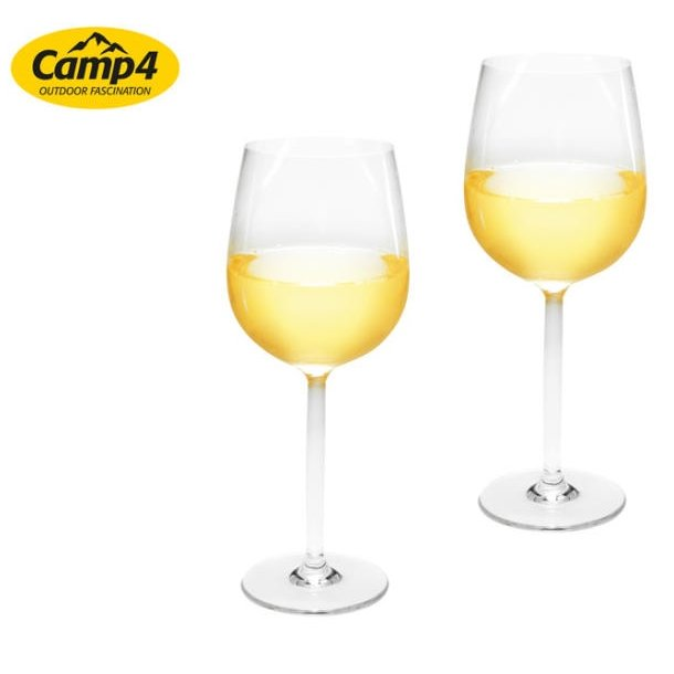 Estella hvidvinsglas i plastik – 2 stk
