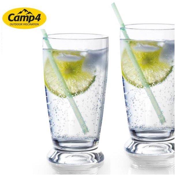 Capri vandglas i polycarbonat – 2 stk