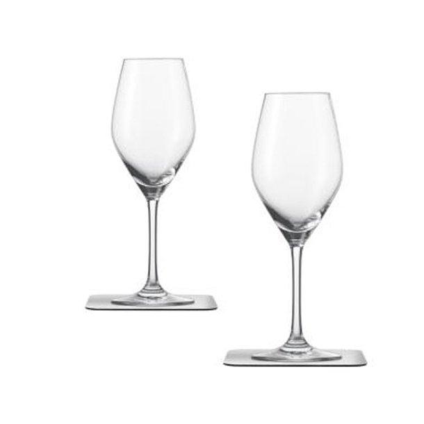 Champagneglas med magnet bund – 2 stk.