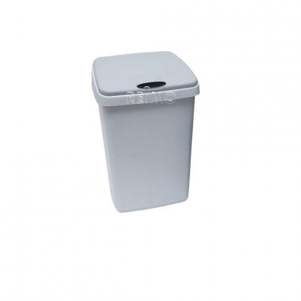 Affaldsspand med hængslet låg – 25 L