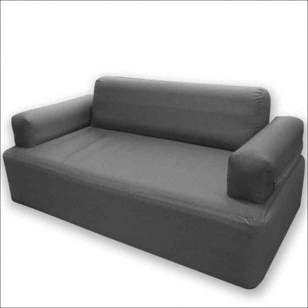 Oppustelig sofa til 2 personer fra Holiday Travel, Gråmeleret